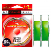 Плетёный шнур Raiglon Pe Light Game 3x 150 (75м x2)